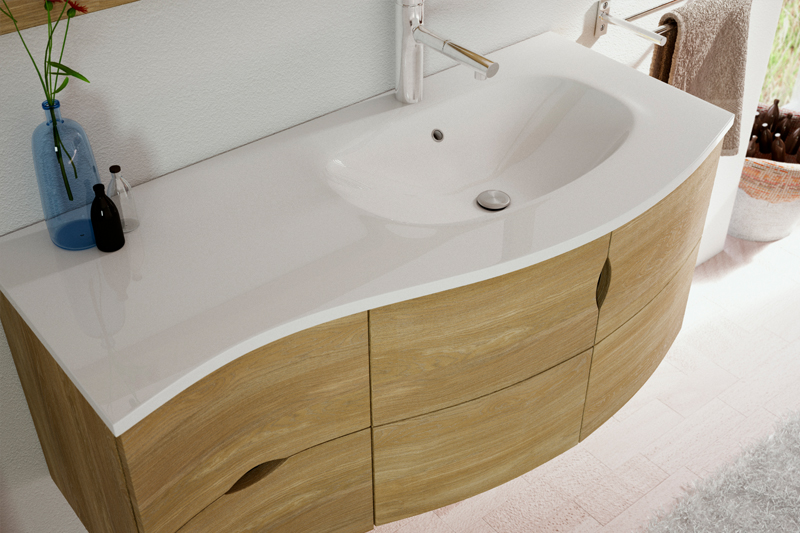 meuble salle de bain vague du sud
